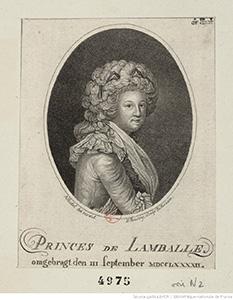 princesse de Lamballe's travels - princesse de lamballe
