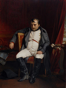 Napoleo's brother Lucien Bonaparte - Napoleon's abdication