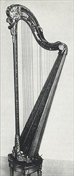 Princesse de Lamballe harp