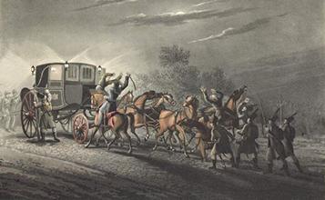 Napoleon Bonaparte's military carriage