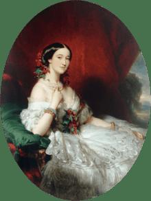 Empress Eugénie - Her sister Paca de Alba