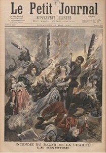 1897 charity bazaar fire - Cover Le Petit Journal