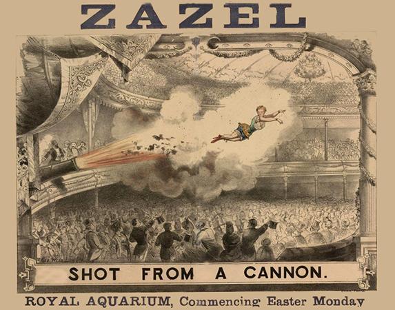 cannonball Zazel
