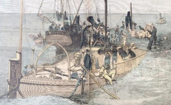 11 June 1880 tragedy depicted in this image