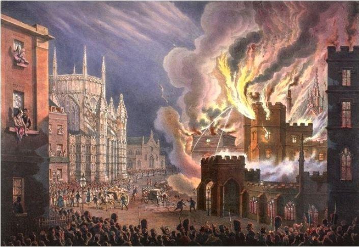 Parliament fire -