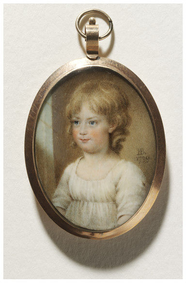 Princess Charlotte at about three years old.