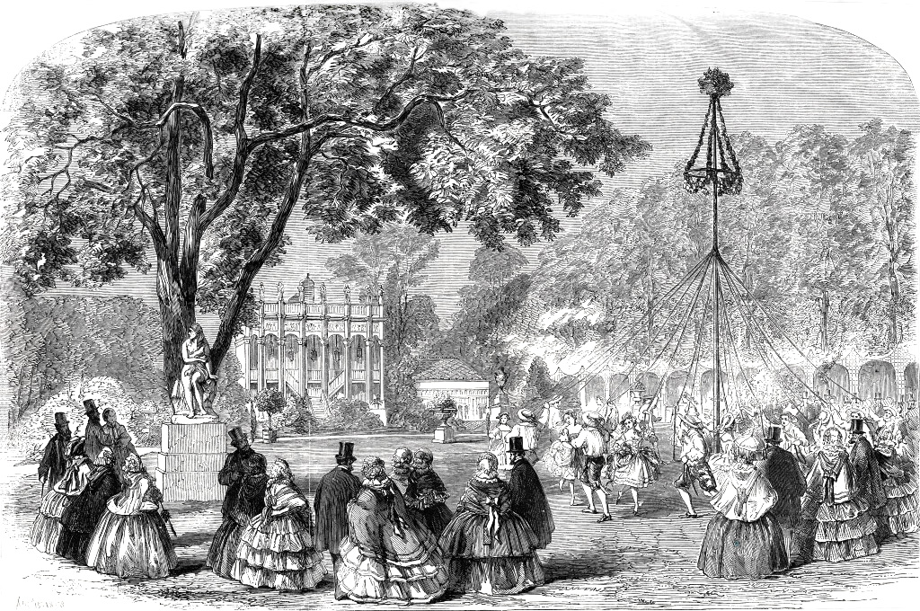 Cremorne Gardens Maypole