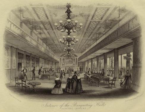 Cremorne Gardens banqueting hall