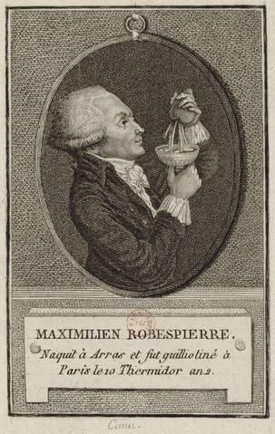 Stories about the French Revolution - Maximilien Robespierre.