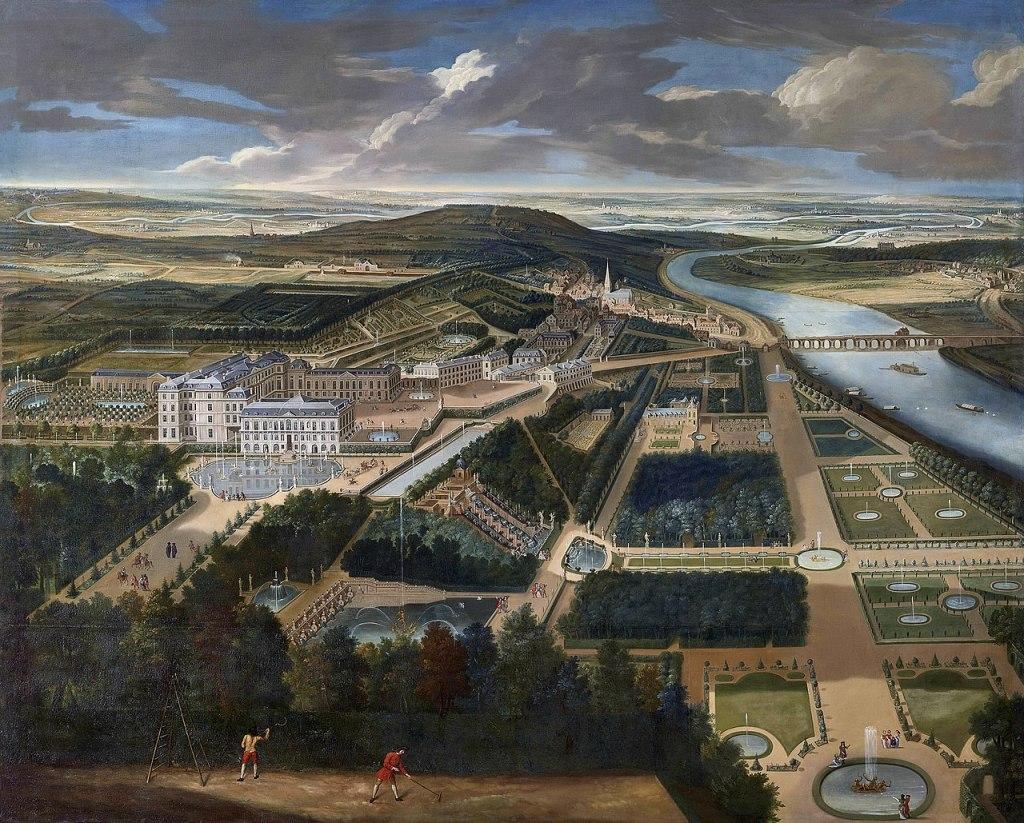 Chateau de Saint-Cloud - seventeenth century view