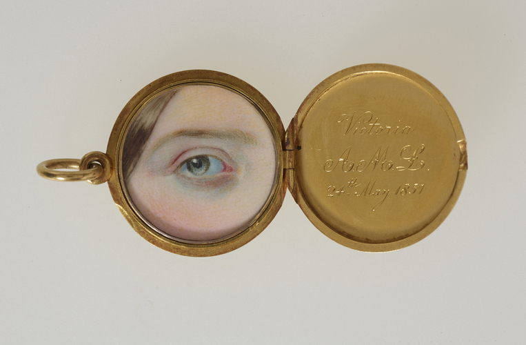 eye miniatures - Queen Victoria