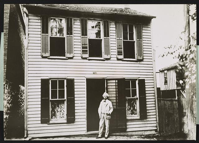 Mark Twain - Hannibal, Missouri home