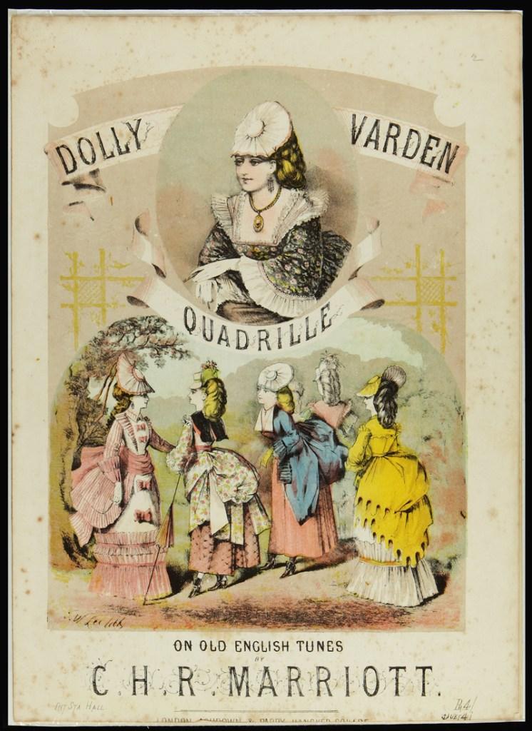 Dolly Varden fashions