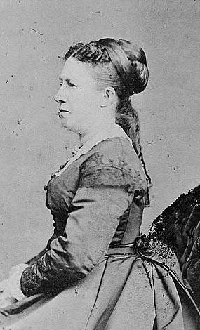 Grant's inauguration - Julia Grant