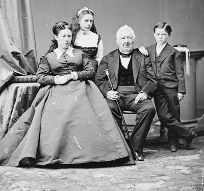 Grant's inauguration - Grant's family