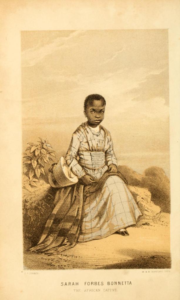 Sarah Forbes Bonetta as a child