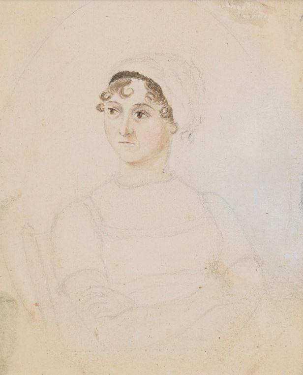 Jane Austen Sibling - portrait by Cassandra.