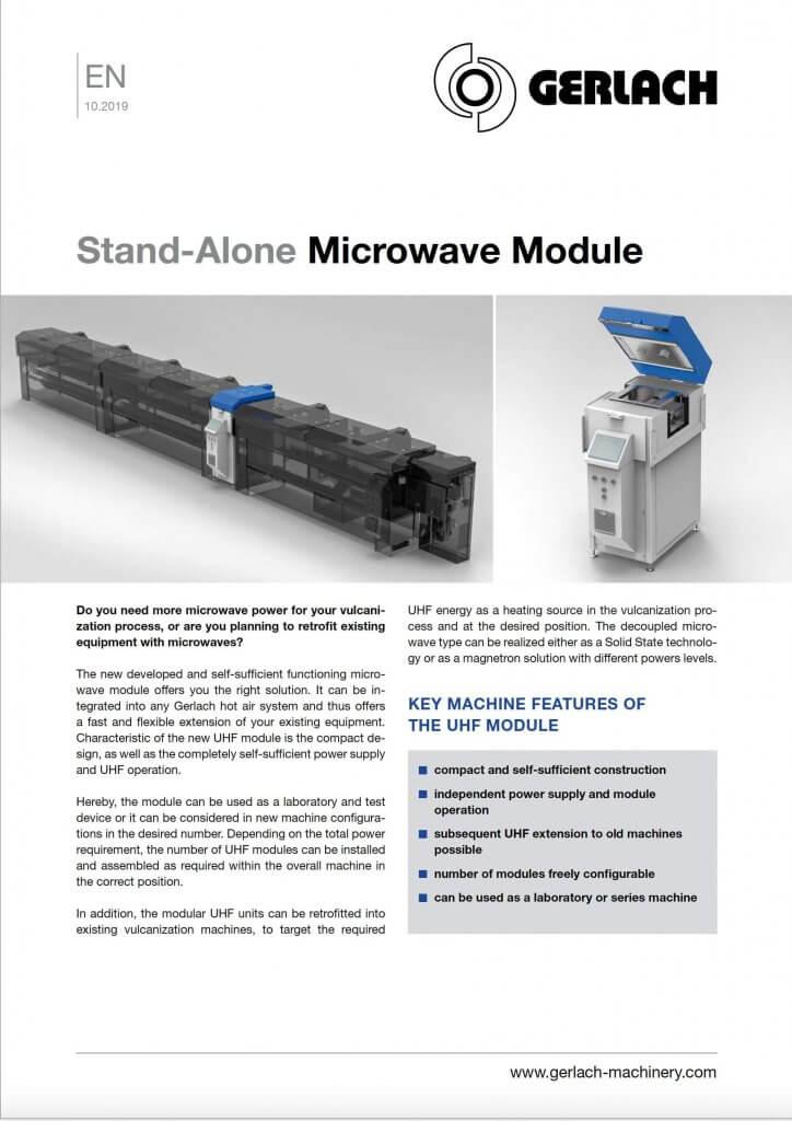 stand alone microwave module gerlach