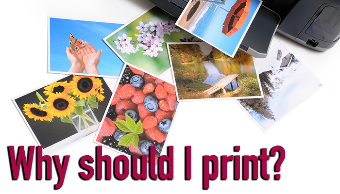 Blog: Why you should print your photographs