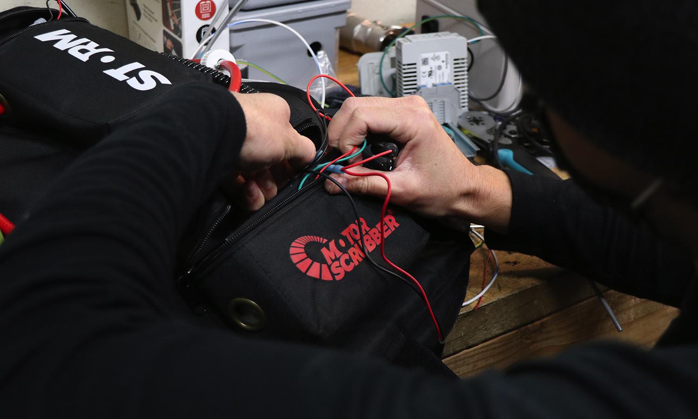 Electrostatic Repair - Moto Storm