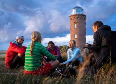 German-Trail Ziel Kap Arkona auf Usedom
