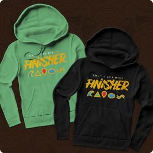 German-Trail High Five Finisher Hoodie Pullover