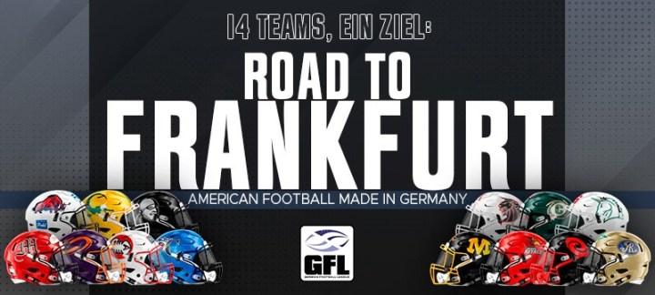 14 Teams, ein Ziel: Road to Frankfurt!