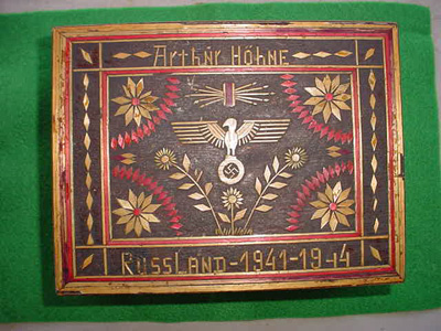 Ukranian Carved Box