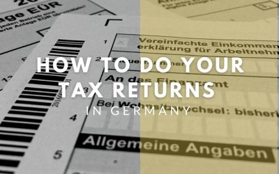 How to do your tax returns in Germany