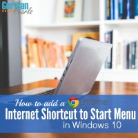 How to Add Google Chrome Shortcut to Windows 10 Start Menu