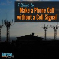 7 Ways to Make a Phone Call without Cell Signal