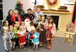 Christmas Party GERMAN SCHOOL campus 2015