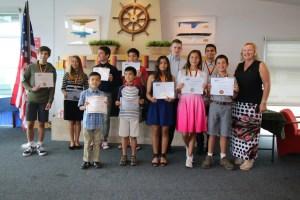 GERMAN SCHOOL campus year end award ceremony