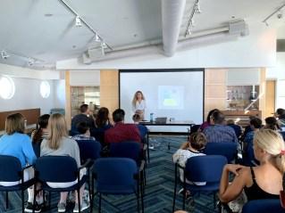 Claire Feldhaus at GERMAN SCHOOL campus