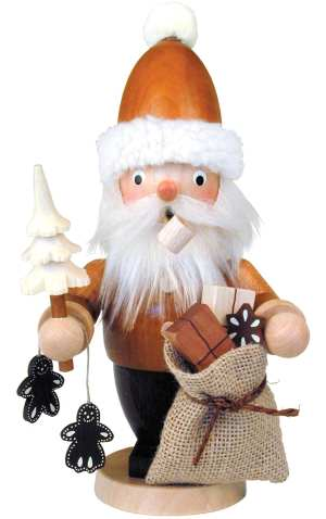 German Santa with Sack Smoker
