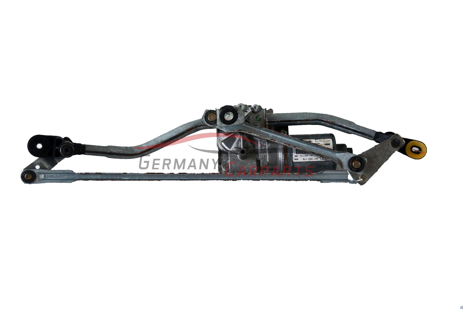 Original Audi A4 8k Wischermotor Motor