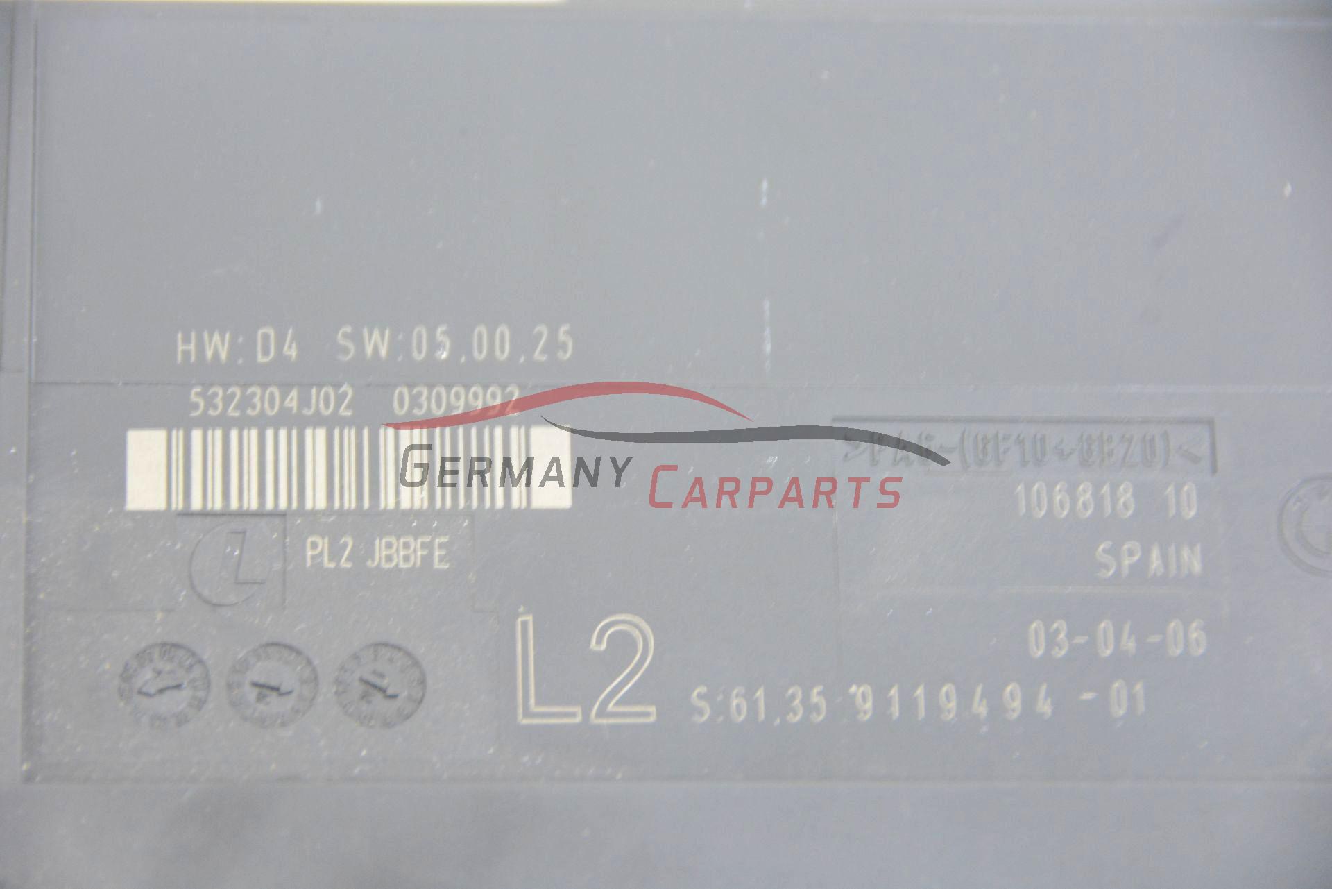 Original Bmw 1er E87 Junctionbox Grundmodul Steuergerat