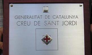 Resultado de imagen de cruz de sant jordi