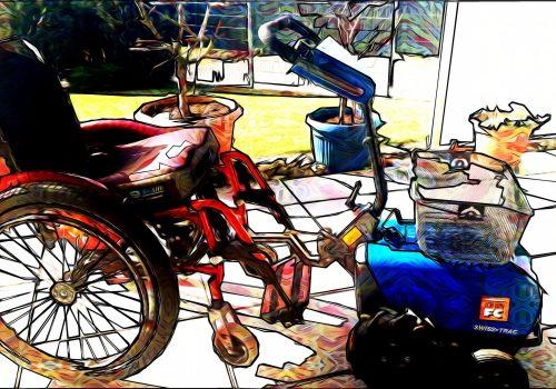 Rollstuhl Saison