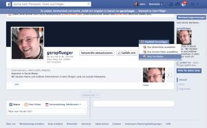 Wichtig ist, ein Coverfoto für die neue Facebook-Seite hochzuladen