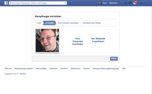 Laden Sie ein Profilbild hoch. Sie können es später austauschen.