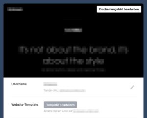 Tumblr-Template anpassen