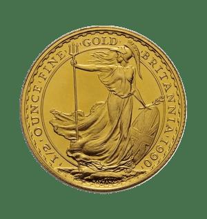 1/2 oz Gold Britannia