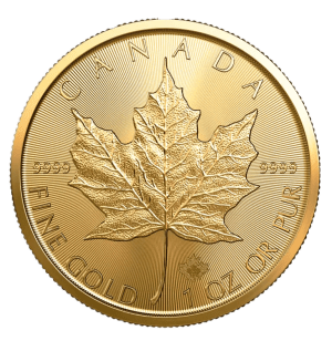 2020 Canadian gold Maple Leaf reverse