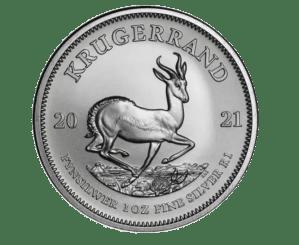 201 1oz silver Krugerrand coin reverse