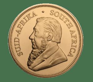 2021 1oz South African Krugerrand Gold Coin obverse