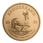 2021 1oz South African Krugerrand Gold Coin reverse