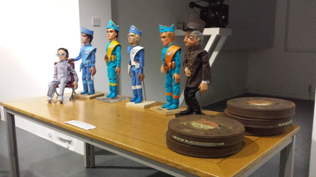 Gerry Anderson on Film display