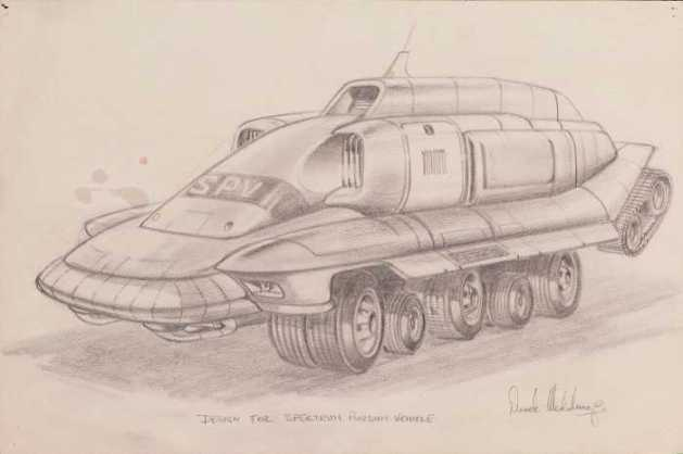 Derek Meddings SPV Sketch