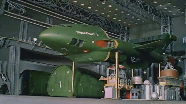 Gerry anderson store warehouse is a bit like the TB2 hangar